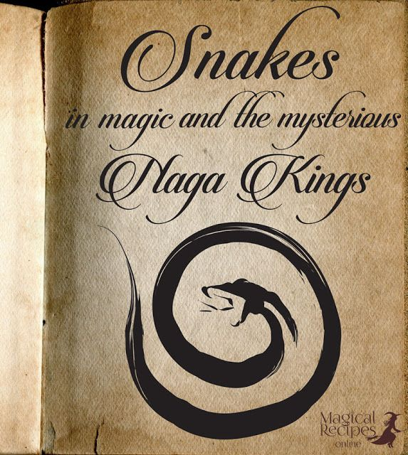 Archetype Totem Animal: <b>Snake</b> and the Hindu <b>Naga</b> Kings - Magical Recipes Online