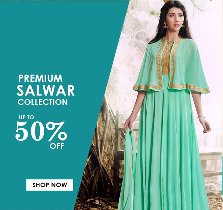BUY TURQUOISE GREEN COLOR SALWAR SUIT SALE UP TO 50% OFF!!! HURRY UP!!!  http://www.fly2kart.com/catalog/product/view/id/44439/?utm_content=buffer66209&utm_medium=social&utm_source=pinterest.com&utm_campaign=buffer