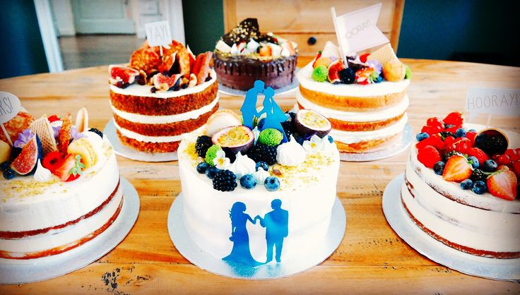Why just have one cake when you can have a table full of cakes!