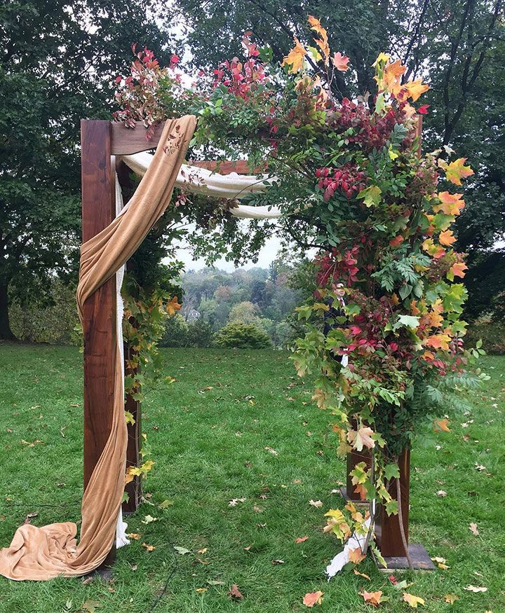 Wedding Arbor Flowers: 852 Best Aisles, Arches & Ceremony Backdrops Images On