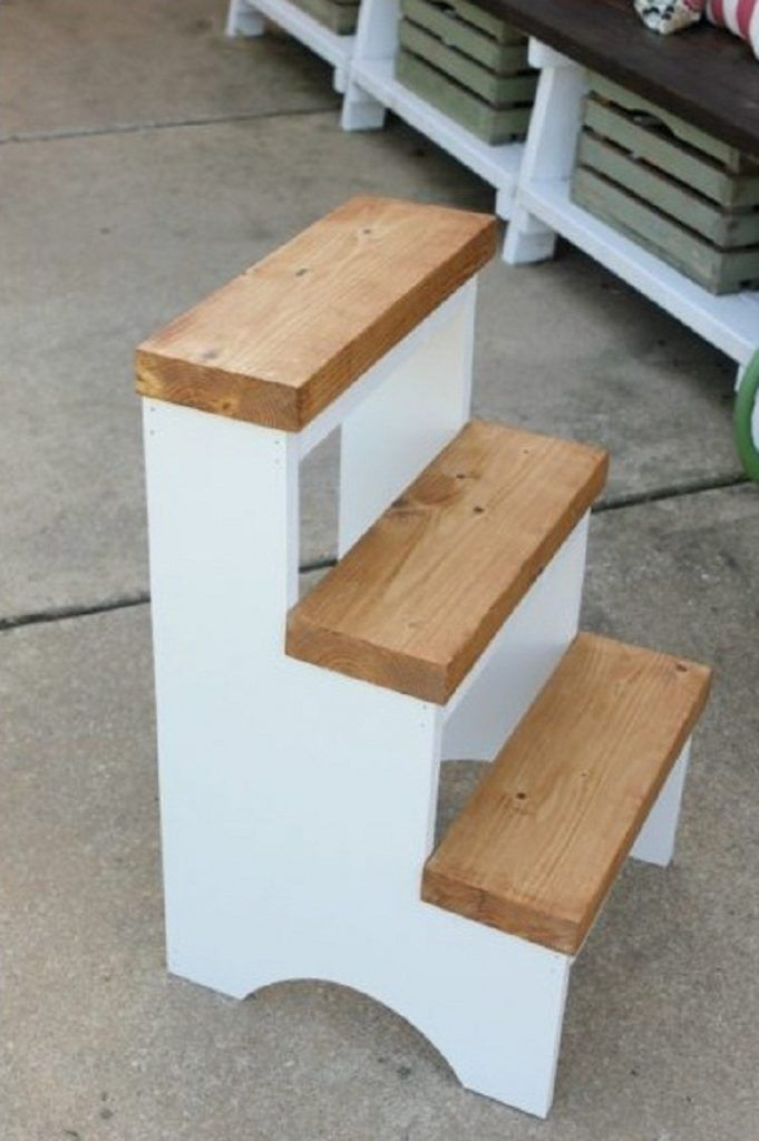 Diy Step Stool Woodworking Plans And Projects Woodworking Session Woodworking Diy Projects To Build Diy Home Repair