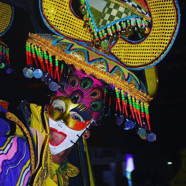 My favourite shot of the #Masskara festival in #Bacolod last night - this clown was just hanging out of the Masskara bus! Welcome to the #cityofsmiles. It's hard to believe that we are leaving #Bacolod today, but each time you move on, you welcome yet ano