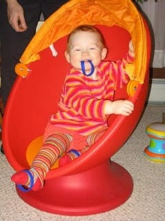 """Every kid needs an IKEA egg chair!, my all time fav, wait for eyes, then 1,2,3, Go or Ready, Set, Go! Get sign for """"go"""" not more!"""