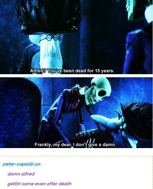 Corpse bride Vs Gone with the wind Shouldn't it be Scarlett?