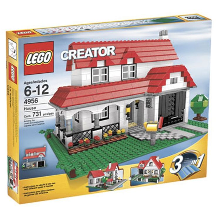 LEGO 4956 Woonhuis 3-in-1