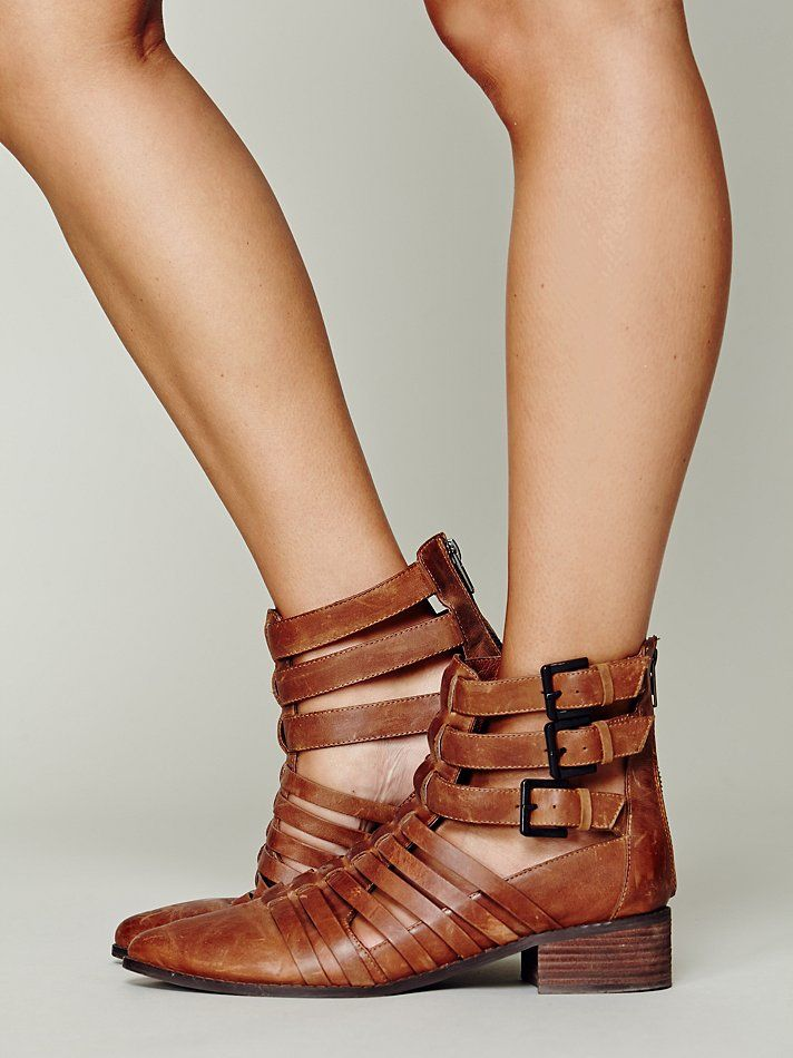 Free People The People Slash Boot at Free People Clothing Boutique