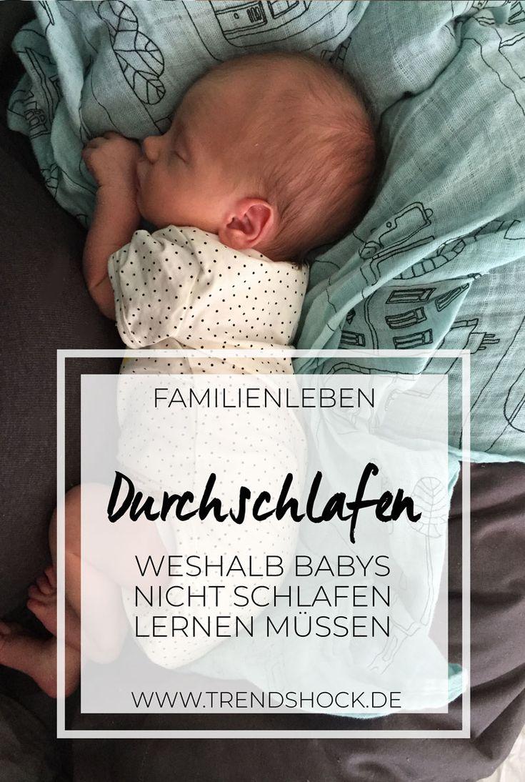 Die Lüge vom Durchschlafen | Weshalb Babys nicht schlafen lernen müssen  Schlafen | Eltern | Muttersein | Elterntipps | Tipps | Ratschlag | Erfahrungen | Familienbett | Bett | Baby | Babyschlaf | Bedürfnisorientiert | Leben | Begleiten | Erziehung
