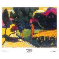Paesaggio Estivo, Murnau, 1909 (Summer Landscape) by Wassily Kandinsky: Category: Art Currency: GBP Price: GBP30.00 Retail Price: 30.00 0
