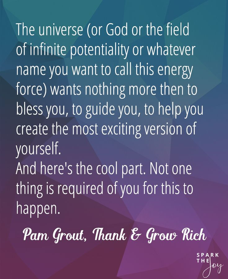 thank and grow rich pam grout free pdf