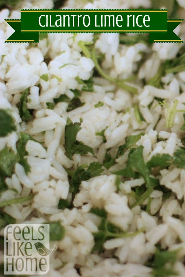 Cilantro Lime Rice with Beans (Made with Lime Essential Oil)