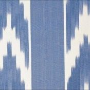 Mallorcan fabric for chairs 50 celeste