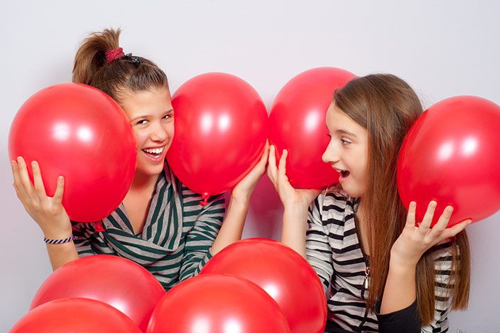 Team Building Games For Teens - Balloon Frenzy