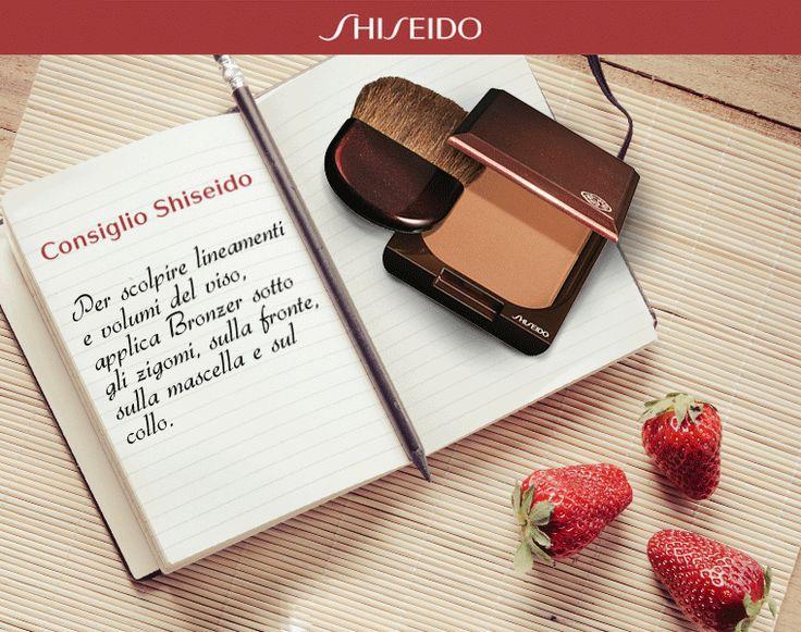 Segui i consigli dei nostri #makeupartist! http://bit.ly/ShiseidoBronzer