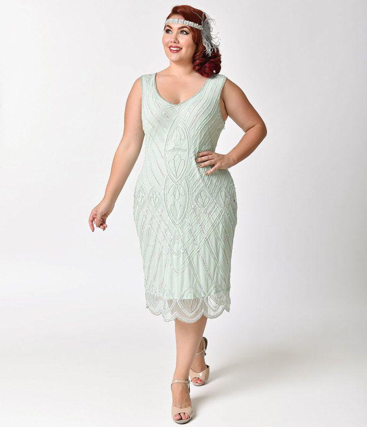25 best ideas about plus size flapper dress on