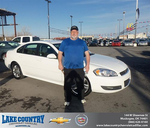 Congratulations to  Stanley Perry on the 2010 Chevrolet Impala