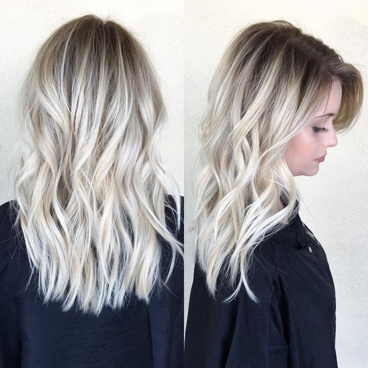 "Becky Miller on Instagram: ""Healthy and bright with a shadowed root @habitsalon"""