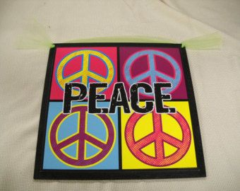 Peace Sign Wall Art 65 best peace signs images on pinterest | peace signs, peace sign