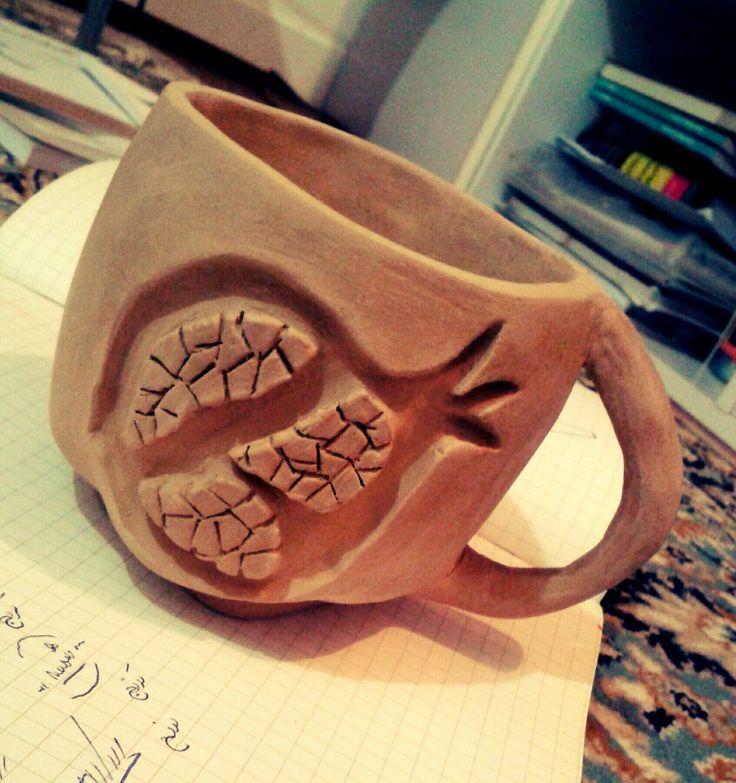 #pottery #my_handmade #pomegranate #انار #venoo