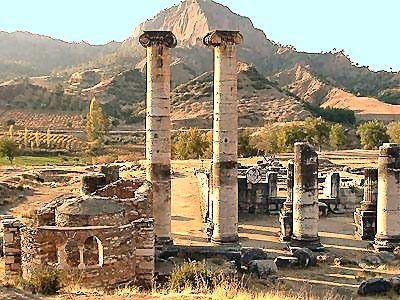 Temple of Artemis at Sardis - Lydia, Turkey.