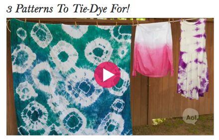 P.S.- Patterns to Tye-Dye for!  http://www.stylelist.com/watch/3-patterns-to-tie-dye-for/#  #PrettySavvySweeps #JeepCompass