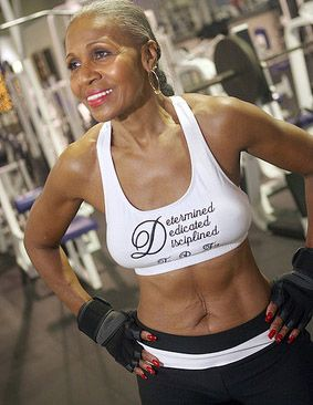 I'm inspired!! 75-Year-Old Body Builder Ernestine Shepherd Proves it's Never Too Late to Get in Shape.
