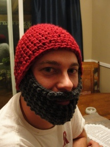 @Toni Krick - Tell Andy this is the hat I am going to make him for Christmas! - crochet bearded hat
