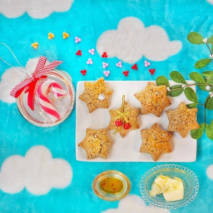 Een Nieuwjaars ontbijt met warme scones en ananasjam