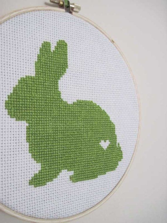 LOVE this etsy store! Eyeglass, Animal, and Halloween cross stitched silhouettes :)