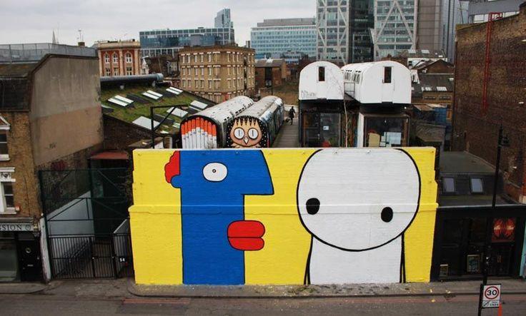 Thierry Noir in London - Broke in London