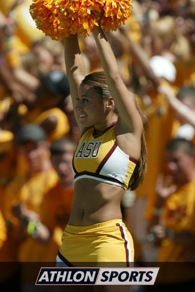 Personal arizona state cheerleader porn remarkable