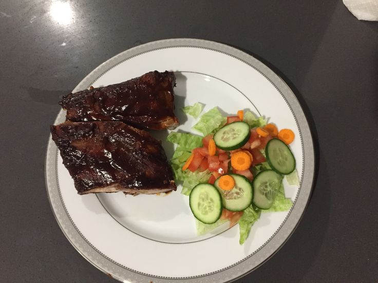 OMG BBQ Pork Ribs 😋😋 to get the recipe & see how I made them go to https://www.youtube.com/channel/UC7DjZ0F9KcF5ZY523fX9-2w or visit www.lovehealthwealthhappiness.com