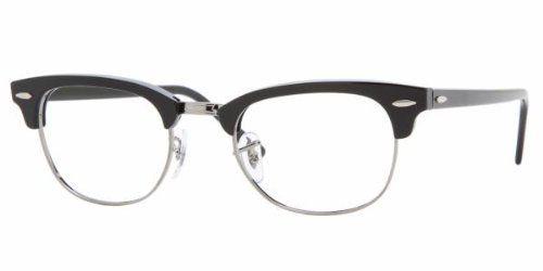 Amazon.com: Ray Ban Eyeglasses RX5154 2000 Shiny Black/Demo Lens 49mm: Ray-Ban Glasses: Shoes