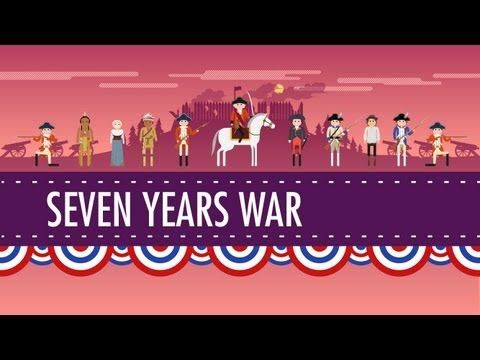 The Seven Years War and the Great Awakening: Crash Course US History #5 - YouTube