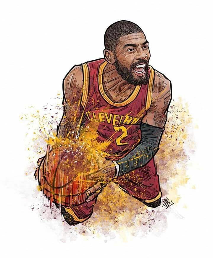 Kyrie Basketballclub Nba Basketball Art Nba Art Basketball Drawings