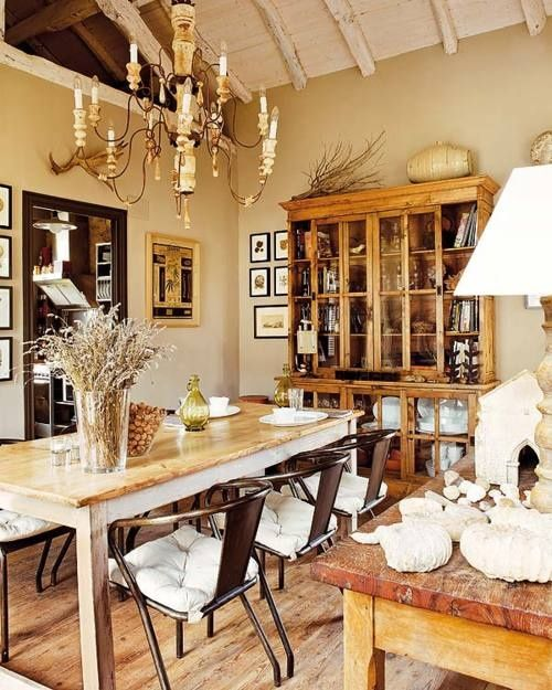 47 Calm And Airy Rustic Dining Room Designs: 45+ Fresh Bucolic Dining Room Design Some Ideas