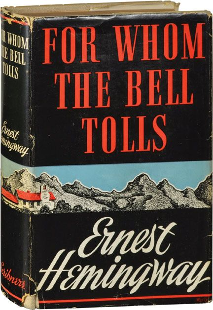 how war changes man in hemingways novel for who the bell tolls For whom the bell tolls is a novel by ernest hemingway, first published in 1940,  and was  in 1940, and was inspired by his experience as a journalist during the  spanish civil war  a number of pablo's men and other characters are also  introduced and make a lasting impression  changed my mind, kid: pablo.
