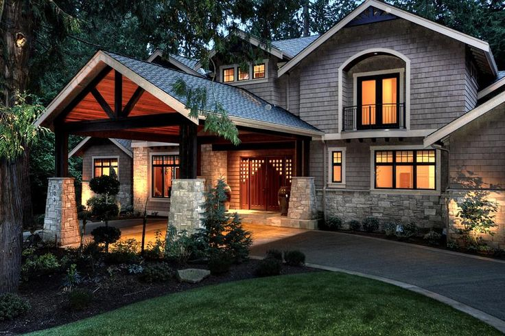Dream House Exterior Craftsman