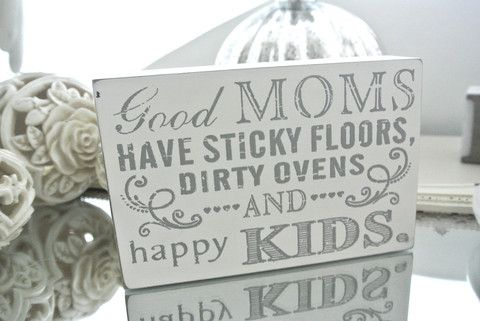 Good Moms Wording Block - Divine Shabby Chic