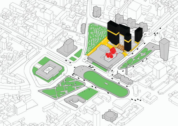 tirana:projecting urbanity  by Irgen Salianji  Diploma Project, University of Thessaly