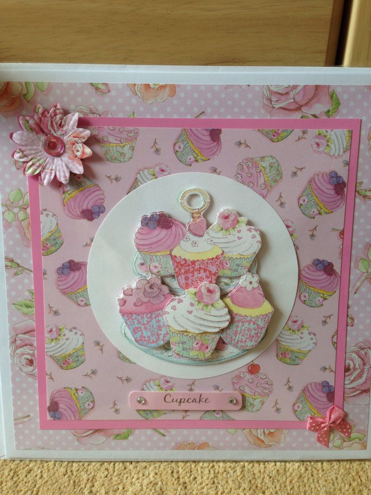 Dovecraft cupcake boutique - pink