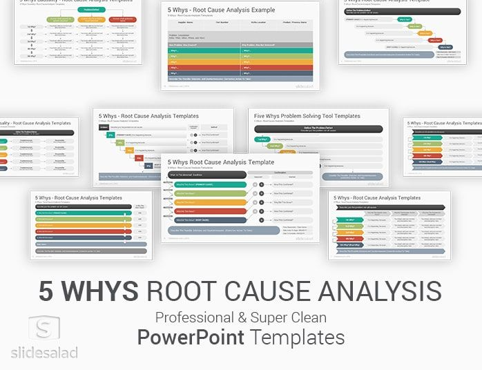 5 Whys Powerpoint Template Ppt Slides Powerpoint Templates