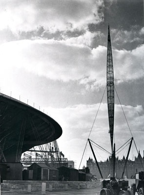 Dome of Discovery and Skylon, 1951 Festival of Britain Showcase | The National Archives