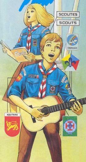 80s Scouts de France (Co-ed, Roman Catholic) Fichier:Unif-SdF bleu.JPG