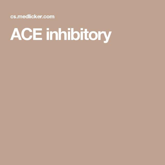 ACE inhibitory