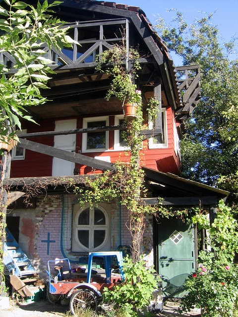 Crazy but cool - Christiania, Copenhagen. Christiania is not just Pusher Street and Nemoland - there are a lot of perculiar houses and small beaches and hidden areas to discover.  http://www.visitcopenhagen.com/copenhagen/sightseeing/alternative-christiania #Copenhagen #Christiania
