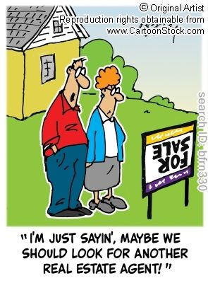 """""""I'm just sayin, maybe we should look for another real estate agent!"""" ~~ I promise to place a For Sale sign right side UP! ~~ Val J Aranda, REALTOR® and Certified Home Marketing Specialist - metro realty, San Antonio - www.val-a-homes.com"""