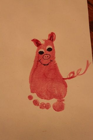 infant+paint+farm+animals   ... Art and I knew we had to make it for Hunter's farm animal theme