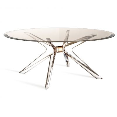 Blast coffee table by philippe starck with s schito a coffee table which does not need any for Philippe starck tables