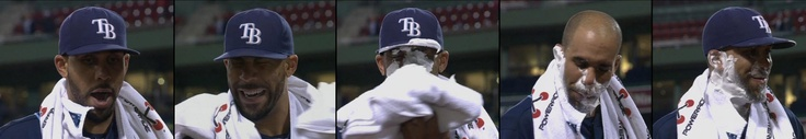 David Price and a Pie, Tampa Bay Rays