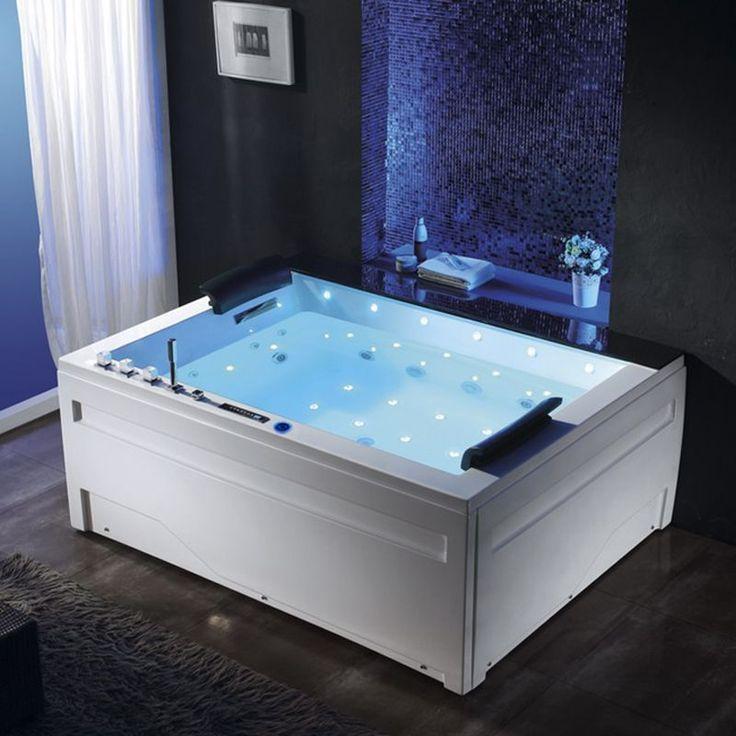 Belle baignoire balneo rectangulaire Philadelphia